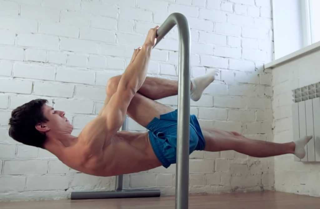 Progresión de front lever: one leg