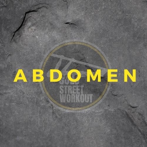 Ejercicios abdomen street workout y calistenia