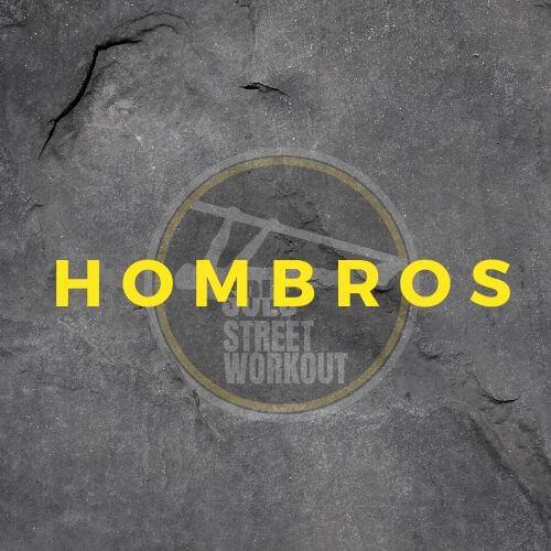 Ejercicios hombros street workout y calistenia
