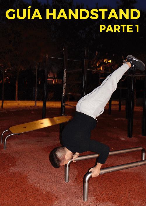 como hacer handstand parte 1