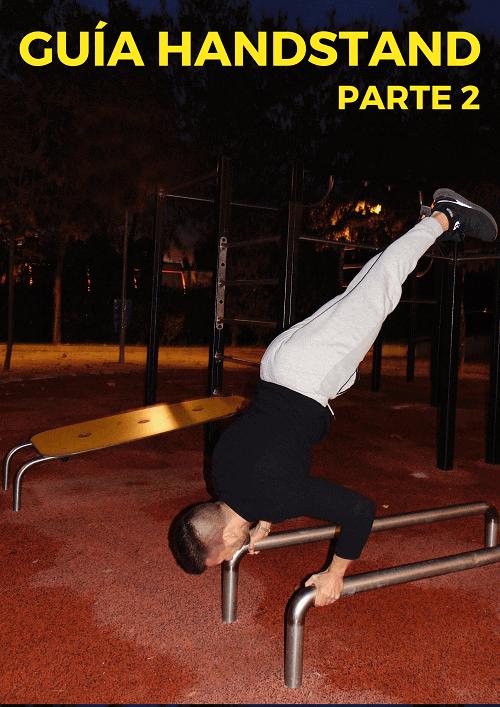 como hacer handstand parte 2