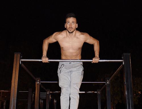 · Rutinas de muscle up por niveles ·