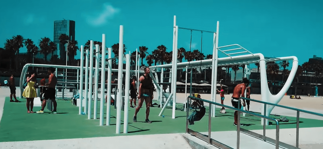 Parque Street Workout Barcelona 1